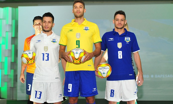 868b441f88600 Seleção de futsal lança novo uniforme para Sul-Americano e Copa do Mundo