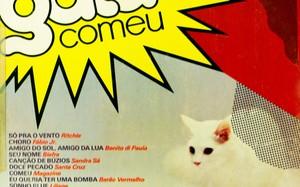 Capa do disco com a trilha nacional de A Gata Comeu