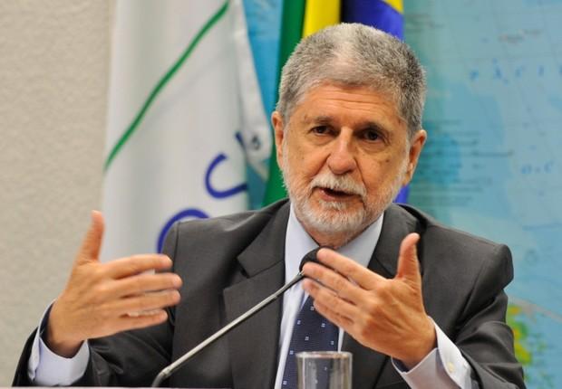 O ministro da Defesa, Celso Amorim (Foto: Agência Brasil)