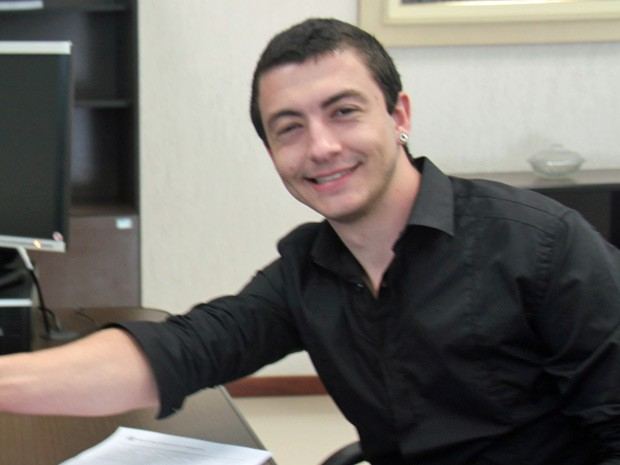 Diogo Machado começou a estudar para concursos com 19 anos (Foto: Arquivo Pessoal/ Diogo Machado)