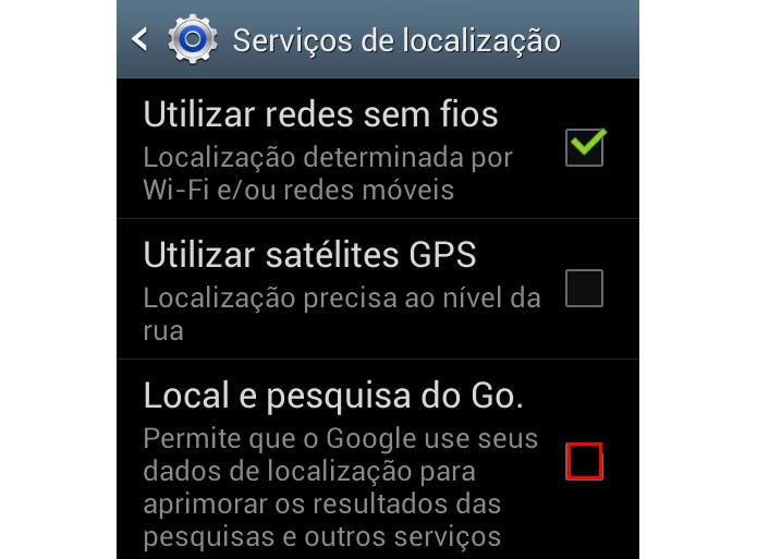 Desmaque a localização do Google (Foto: Reprodução/Paulo Alves) (Foto: Desmaque a localização do Google (Foto: Reprodução/Paulo Alves))