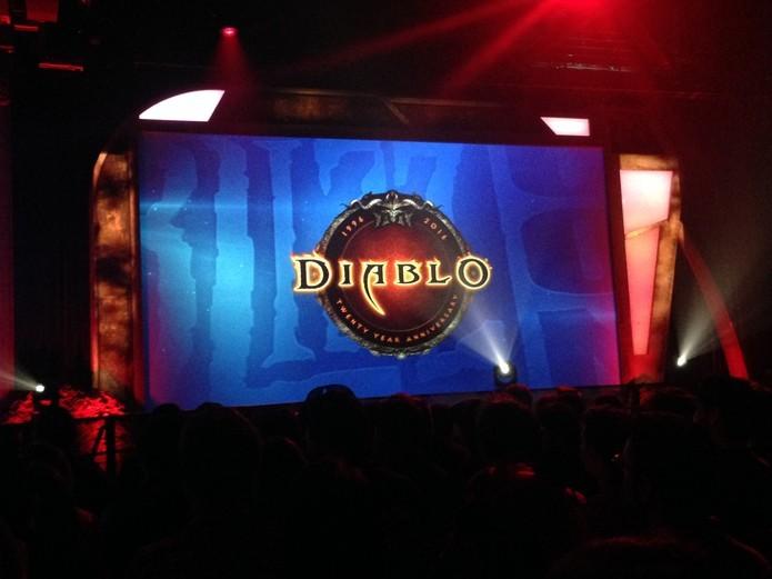 Diablo também comemorou 20 anos na BlizzCon (Foto: Divulgação/Blizzard)