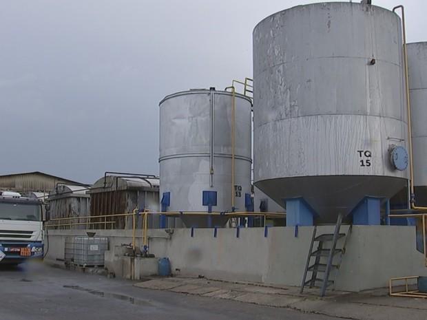 Refinaria era usada de fachada em Boituva  (Foto: Reprodução/TVTEM)
