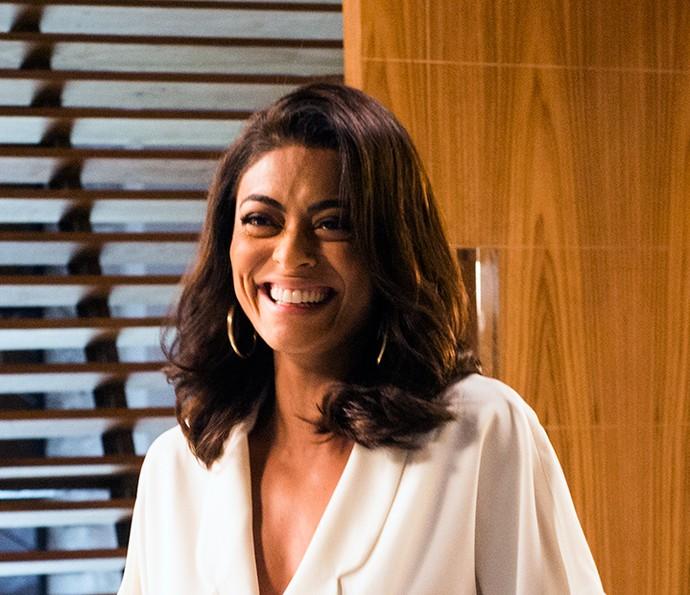Juliana Paes, atualmente em 'Totalmente Demais', conta lembranças que tem de quando interpretou Maya, em 'Caminho das Índias' (Foto: TV Globo/João Miguel Júnior)