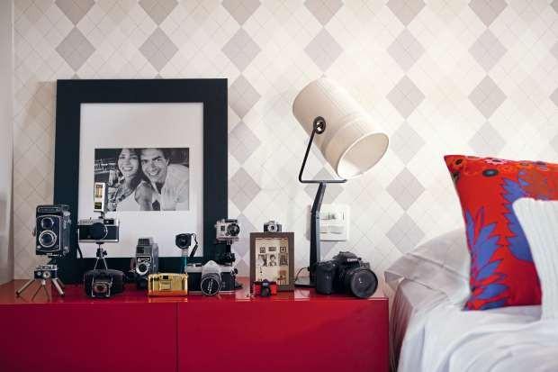 Coleção de câmeras fotográficas (Foto: Edu Castello/Editora Globo)