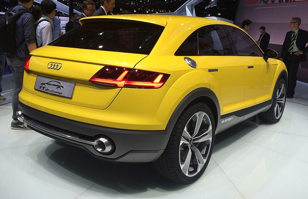 Audi TT Offroad (Foto: Divulgação )