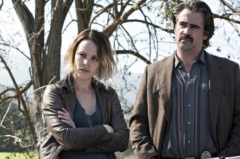 Rachel McAdams e Colin Farrel em 'True detective' (Foto: HBO)