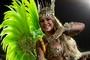 Fantasia da rainha de bateria custou R$ 80 mil; veja fotos (Caio Kenji/G1)