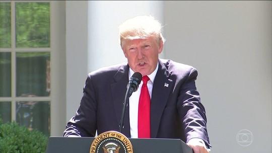 Trump diz que Acordo de Paris foi feito para tirarem vantagem dos EUA