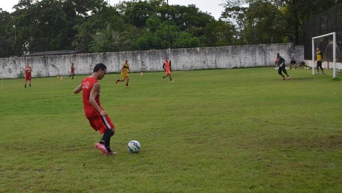 Santos-AP; Amapá; Futebol (Foto: Rafael Moreira/GE-AP)