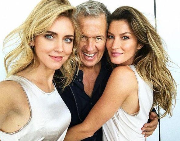 Chiara, Mario e Gisele (Foto: Reprodução Instagram)