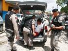 Suspeito de golpe em caixa eletrônico é preso após perseguição na Paraíba
