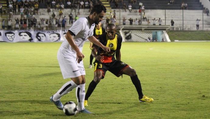 ABC x Globo FC - Nando (Foto: Diego Simonetti/Blog do Major)
