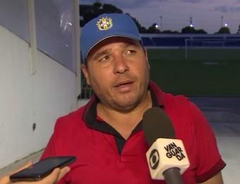 João Telê técnico Guaratinguetá (Foto: Reprodução/TV Vanguarda)