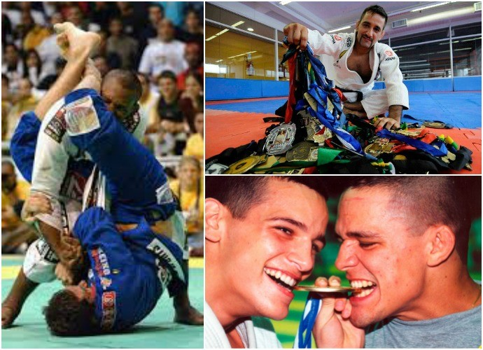 Grandes campeões amazonenses do jiu-jitsu (Foto: GloboEsporte.com)