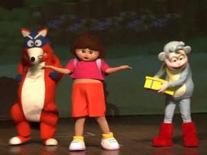 Espetáculo As Aventuras de Dora e seus amigos (Foto: Divulgação/ Pablo Soares)