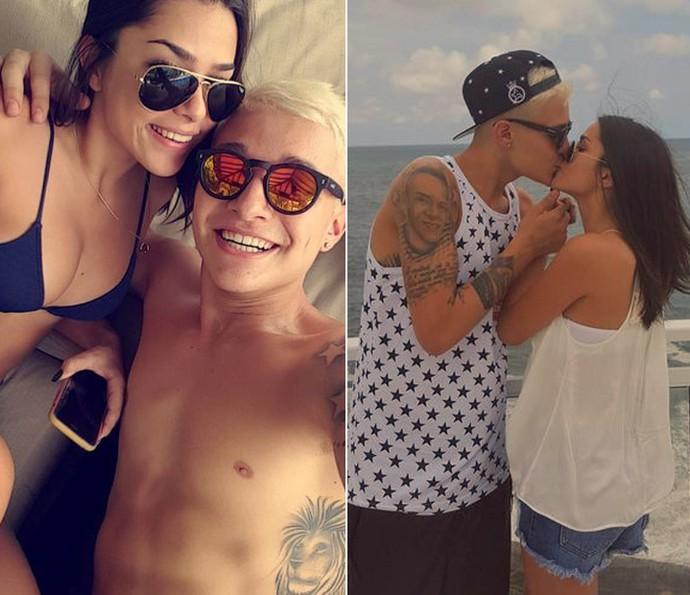 MC Gui posta fotos com a namorada nas redes sociais (Foto: Arquivo Pessoal)