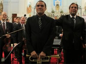 Elieser Ribeiro Fernandes, músico da Orquestra Sinfônica de Porto Alegre (Foto: João Gastao / Divulgação Ospa)