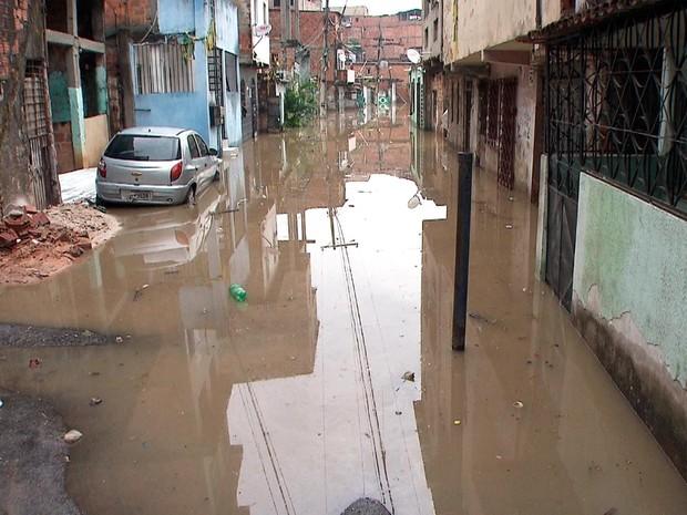 Situação foi registrada na manhã desta terça (Foto: Reprodução/TV Bahia)