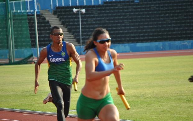 Treino de atletismo no Crystal Palace (Foto: João Gabriel Rodrigues / Globoesporte.com)