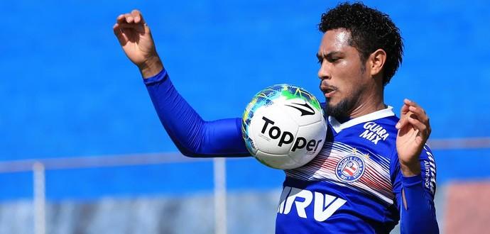 Bahia; treino; Fazendão; Hernane (Foto: Felipe Oliveira / Divulgação / EC Bahia)