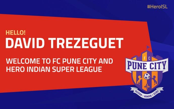 Trezeguet anunciado em time na Índia (Foto: Divulgação)