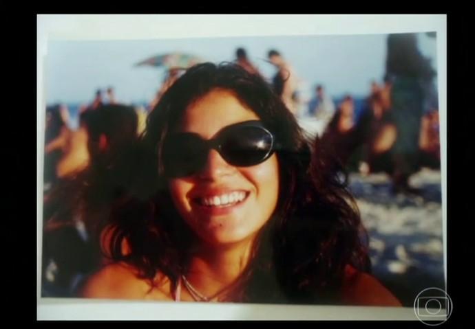 Carol Castro era a 'garota de Ipanema' do grupo de amigos (Foto: TV Globo)