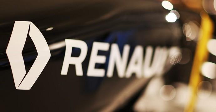 Detalhe do carro da Renault