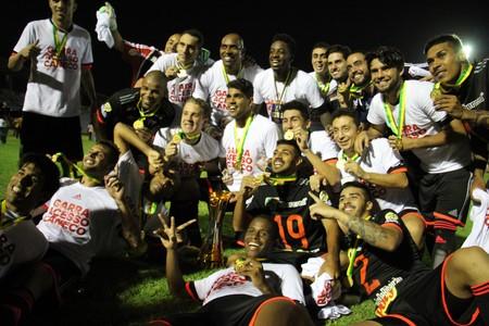 Botafogo-SP campeão da Série D 2015 (Foto: Emanuele Madeira)