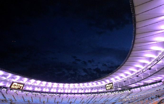Maracanã, Botafogo X Santos (Foto: Vitor Silva / SSpress)