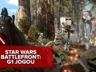 'Star Wars Battlefront' agrada fãs, mas não é game memorável; G1 jogou