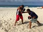 Praia do Centro em São Pedro, RJ, vai receber torneio de boxe no domingo
