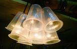 'É de casa' ensina como fazer uma luminária com copos de requeijão (TV Globo)