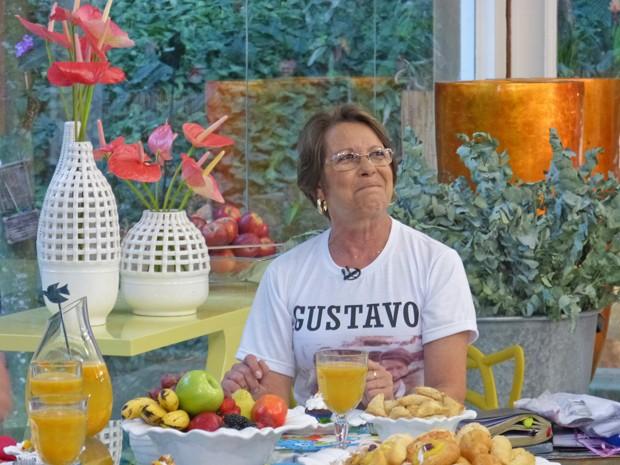 Elaine conta como está sua vida após tragédia que levou dois de seus filhos (Foto: Mais Você / TV Globo)