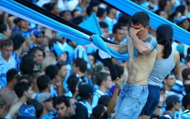 lágrimas no adeus (Lucas Uebel/Grêmio FBPA)