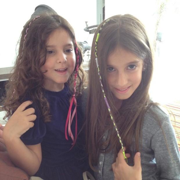 Vera Viel posta foto das filhas (Foto: Instagram / Reprodução)