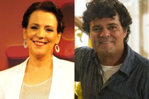 Ana Beatriz Nogueira e Felipe Camargo  (Foto: Divulgação)
