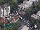 Interdição da Rua do Espinheiro complica trânsito no Recife