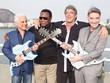 Roberto Medina, George Benson, Ivan Lins e Eike Batista (Foto: Miguel Sá)
