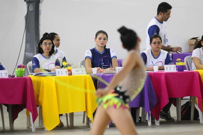 Bianca Maia torneio de ginástica rítmica (Foto: Antônio Lima/Sejel)