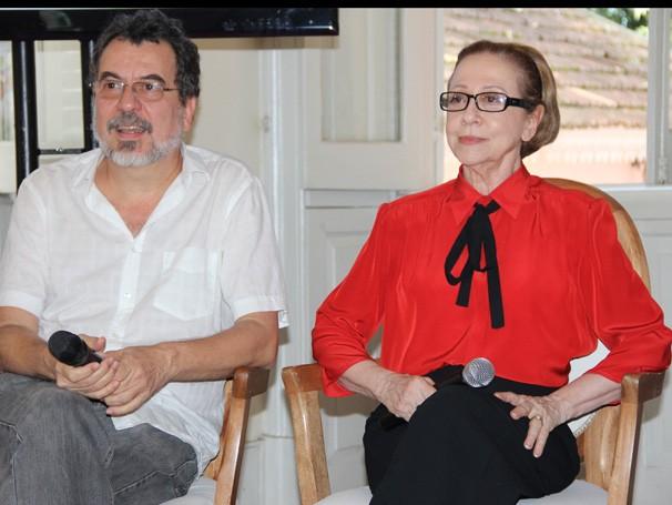 Jorge Furtado e Fernandao Montenegro (Foto: Divulgação / TV Globo)