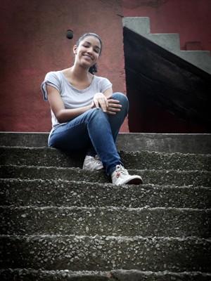 Mayra teme que colegas que tiraram nota muito discrepante possam ter dificuldades (Foto: Caio Kenji/G1)