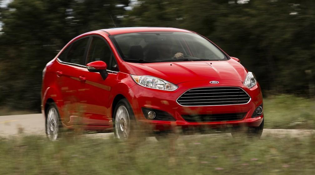 Ford New Fiesta Sedan 2014 (Foto: Divulgação)