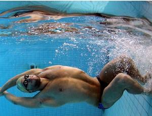 thiago pereira natação treino (Foto: Satiro Sodré / Agif)