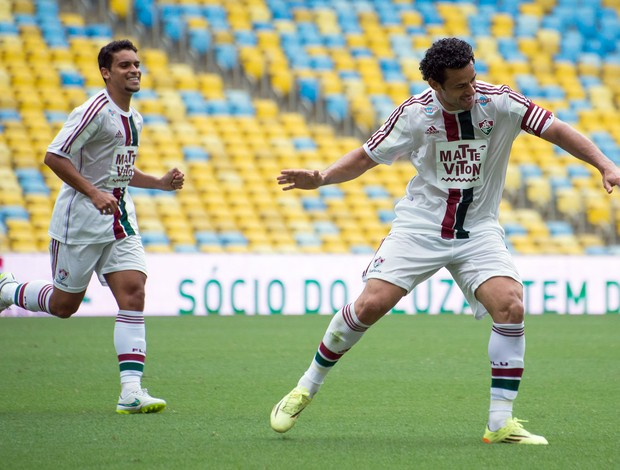 Fluminense x Bangu Gol Fred (Foto: Bruno Haddad / Fluminense FC)