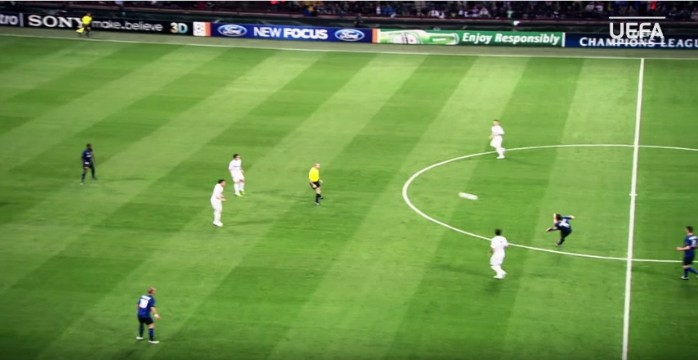 Stankovic Inter de Milão gol meio de campo