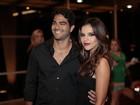 Mariana Rios e namorado vão a show de Tiago Abravanel, no Rio