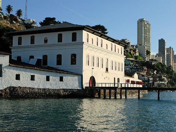 Museu de Arte Moderna da Bahia  (Foto: Luciano Oliveira)