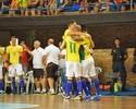 Com gol de Daniel, Brasil derrota o Paraguai e assume liderança da chave