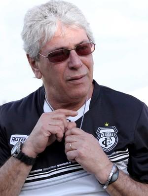 Sério Cosme, técnico do Treze (Foto: Leonardo Silva / Jornal da Paraíba)